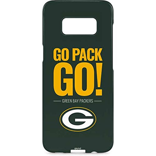 Skinit NFL Green Bay Packers Galaxy S8 Lite Case - Green Bay Packers Team Motto Design - Ultra-Thin, Lightweight Phone Cover