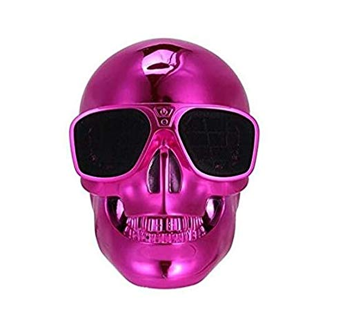 Skull Head Shape Portable Wireless Bluetooth Speaker For Desktop Pclaptop Notebookmobile Phonemp3mp4 Player