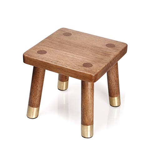 MCLY Shower Seats, Square Solid Wood Non-Slip Bath Footstool, Elderly/Pregnant Women/Disabled/Children/Shoes Bench Shower Shower Seat