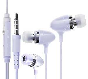 Wayzon trasgresor sonido estéreo manos libres auriculares con micrófono en línea-remote para Plum Caliber II 2