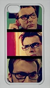 David Tennant Doctor Who Tenth Custom PC Transparent Case for iPhone 5C by icasepersonalized