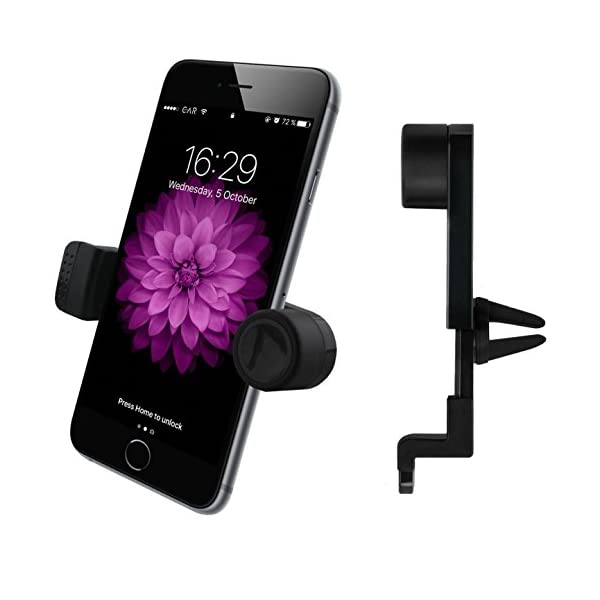 Luxury Air Vent Car Mount   Universal Smartphone / Mobile Phone Holder By EnviCAR   Compatible With IPhone 7, 7 Plus, 6, 6S, Se | 6 Plus, 6S Plus, IPhone 5, 5S | Galaxy S5, S6, S7, S7 Edge And Others