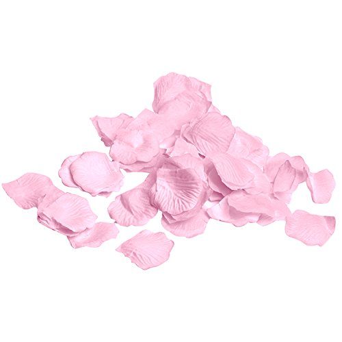 Royal Imports Pink Silk Flower Artificial Rose petals for Wedding Aisle, Party Favor & Table, Vase, Home Decoration by, 1000 PCS - Silk Roses Wedding Favor Flower