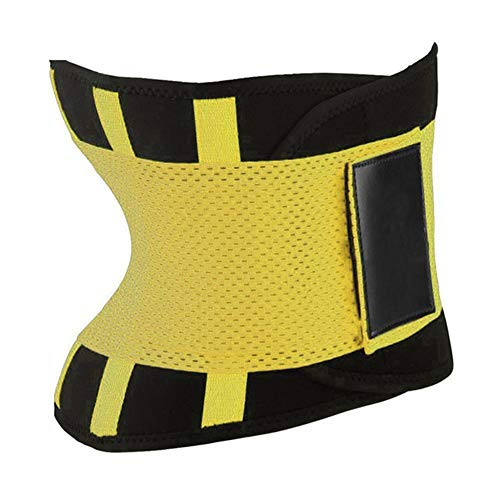 Waist Trainer Cincher Women Body Shaper Girdle Belt Underbust Control Corset Yellow