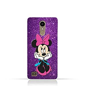 LG K10 TPU Silicone Case with Minnie Mouse Lovely Smile Design