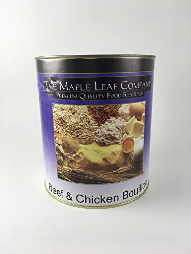 Price comparison product image Beef and Chicken Bouillon - Premium Quality Food Reserves