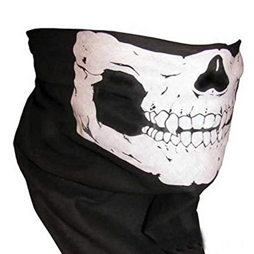 Morrenz - Halloween Mask Sexy Scary Skull Horror Skeleton Ghost Mask Motorcycle Bicycle Scarf Cap Festive Party Masks