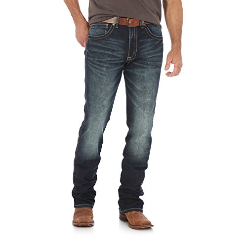 20 X Western Jeans - Wrangler Men's 20X Slim Fit Straight Leg Jean, Denver, 34X32
