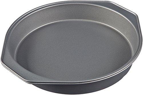 AmazonBasics Nonstick Carbon Steel Cake Pan - 9-Inch, 2-Pack