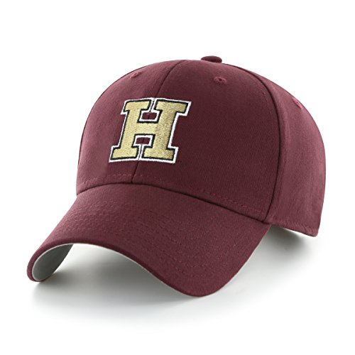 NCAA Harvard Crimson Children Cinch Ots All-Star MVP Adjustable Hat, Kids, Dark (Maroon Kids Hat)