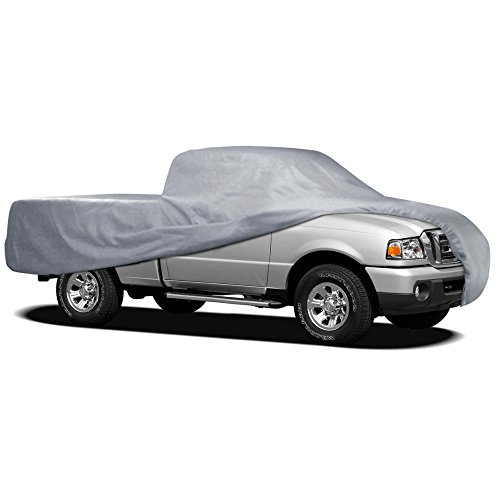 Motor Trend Auto Armor Outdoor Premium Truck Cover All Weather Protection Waterproof Cover (7 Size) Chevrolet S10 Car Cover