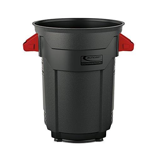 Suncast Commercial Utility Trash Can, 20 Gallon
