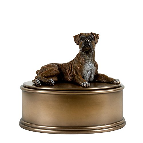 - Perfect Memorials Boxer Figurine Cremation Urn