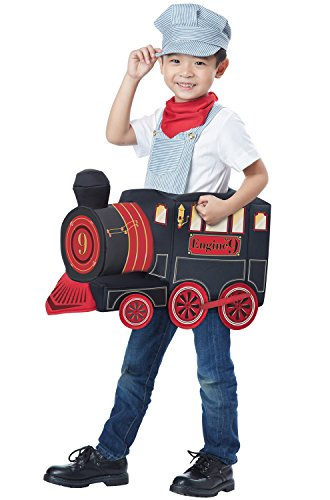 All Costumes (California Costumes All Aboard! Costume, Multi, Toddler (3-6))