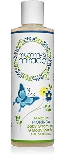 Mummys Miracle Baby Wash and Shampoo 8 ounces.