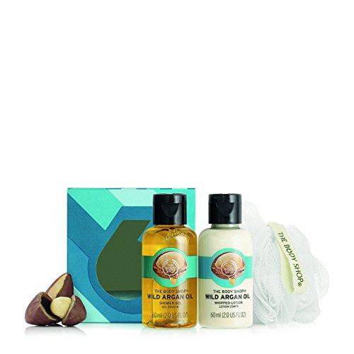 The Body Shop Wild Argan Oil Treats Cube  Gift Set