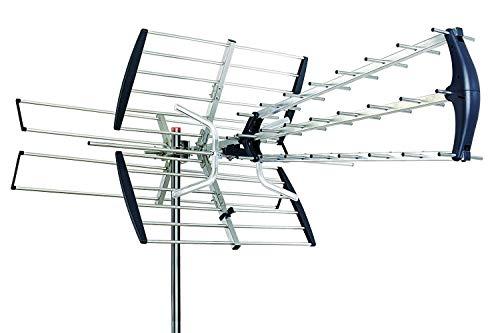 HD TV Antenna Outdoor Amplified 180 Mile HDTV 1080p Digital UHF/VHF FM Radio
