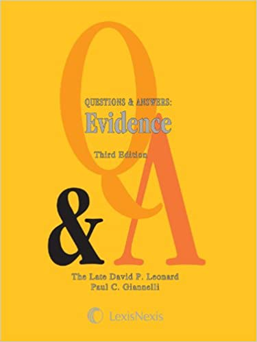 Questions answers evidence kindle edition by david p leonard questions answers evidence 3rd edition kindle edition fandeluxe Images
