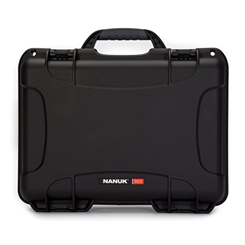 Nanuk 910 Waterproof Hard Case Empty - Black