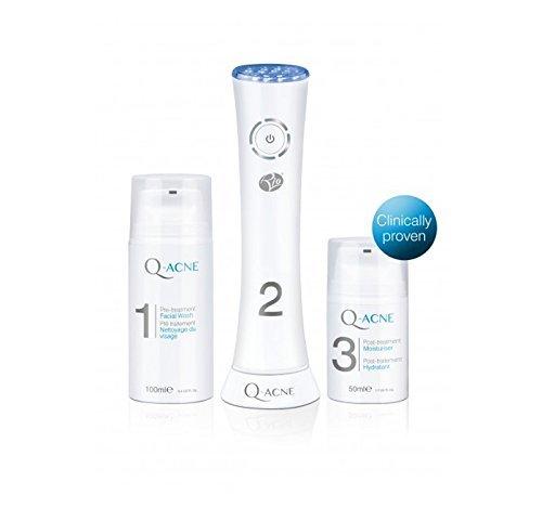 Q-ACNE LITE3 - Pack de 3 cremas lenitivas + display Rio Beauty Q ACNE
