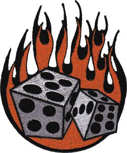 Application Flaming Dice -