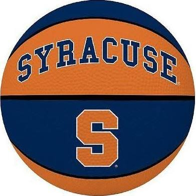 (Licensed Products Alley Oop Youth-Size Rubber Basketball - Syracuse)