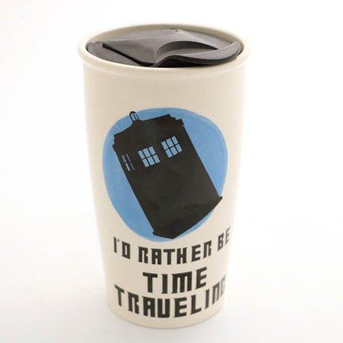 Dr. Who Time Traveling Eco Travel Mug
