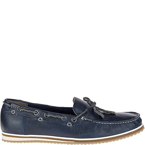 Hush Puppies Men's Bolognese Rope Lace Loafer, Navy, 11.5 M US