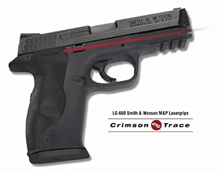 Crimson Trace Laser-Grip for Smith and Wesson M and P, Black, Full