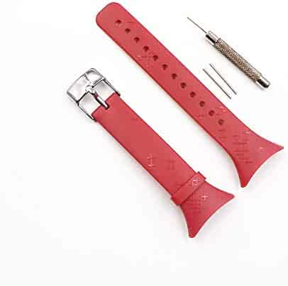 Original watchband for Suunto M-Series Fuchsia Rope Pattern Strap M1 M2 M4 M5 with Steel Buckle