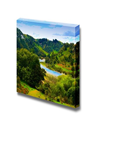 Landscape Photo from New Zealand Nature and River Wall Decor ation