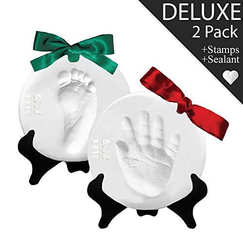 Proud Baby Deluxe Clay Hand Print & Footprint Keepsake Kit...