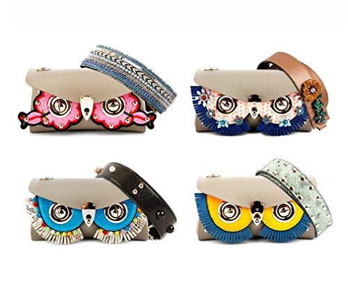 Originale Sostituibile Smallbagd Ginny Maschera Mucca trapa24 Handmade Design Borsetta Double Catena Messenger Fashion Accessori Piccola Borsa jaycel Carino Spalla Bag In Donna Pelle sided wZqZ8fXg