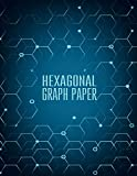 #2: Hexagonal Graph Paper - Organic Chemistry - 150 pages 1/4 inch Hexagons: Graph Paper Notebook For Game Maps Chemistry Quilting Grid Mats (Graph Paper Notebooks)