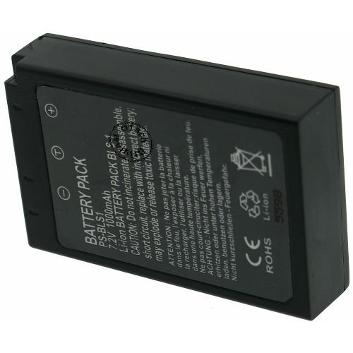 Otech Battery for OLY PS-BLS1 black 7.2V Li-Ion 1700mAh ()