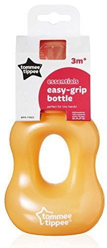Tommee Tippee Wide Neck Nipper Gripper 240ml (ORANGE) (Gripper Bottle Feeding)