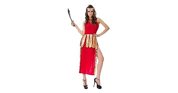 Amazon.com: jj-gogo Rojo Sexy Vestido para disfraz fiesta de ...