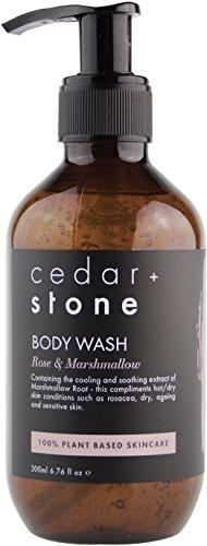 Cedar and Stone - Organic Rose + Marshmallow Body Wash - 200 ()