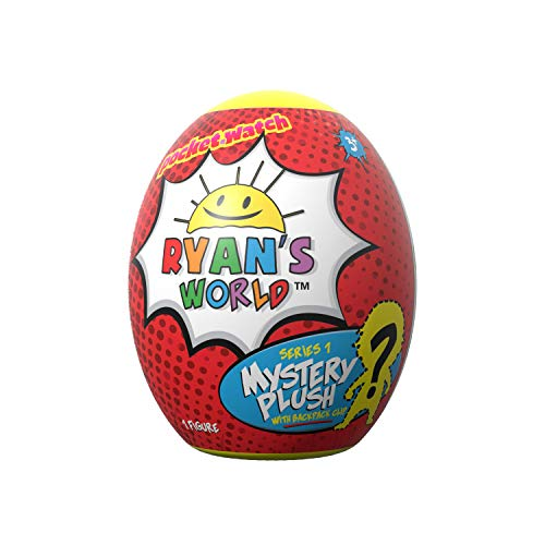 Ryan s World Surprise Egg Plush Clip - Includes One Random Plushie