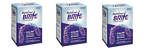 Retainer Brite YKvRCfD, 3Pack (96 Tablets)