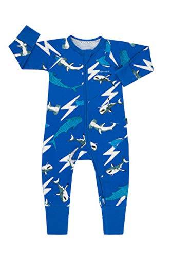 Bonds WONDERSUIT Zippy (Shark Lightning Bolt, Newborn)