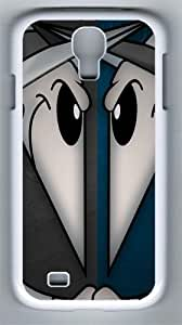 Spy Vs Spy PC Hard Case Cover For Samsung Galaxy S4 SIV I9500 Case and Cover White