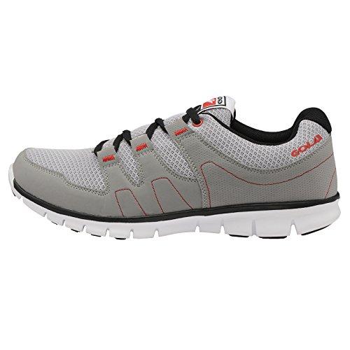 Gola - Zapatillas para hombre - Silver Grey Black Red