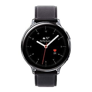 Samsung Galaxy Watch Active2 (44mm), Silver (LTE Unlocked) - SM-R825USSAXAR (US Version & Warranty) (Renewed)
