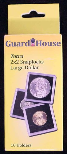 2×2 Large Dollar Tetra Snaplock – 10 per pack by Guardhouse