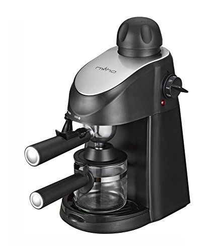 Miho CM-01A Espresso Machine 3.5 Bar Steam Cappuccino and Latte Maker Compact image