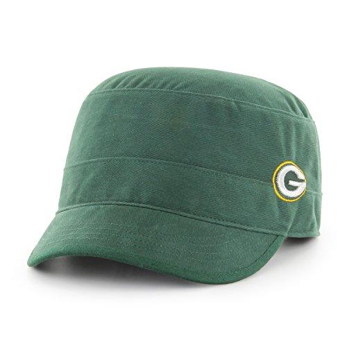 NFL Green Bay Packers Women's Shipmate OTS Cadet Military-Style Adjustable Hat, Dark Green, Women's