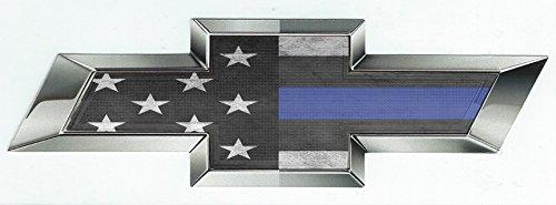 chevrolet emblem blue - 5