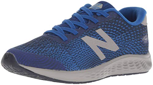 New Balance Boys' Arishi Next V1 Hook and Loop Running Shoe, Team Royal, 4 M US Big - Balance Shoes Wide New Boys