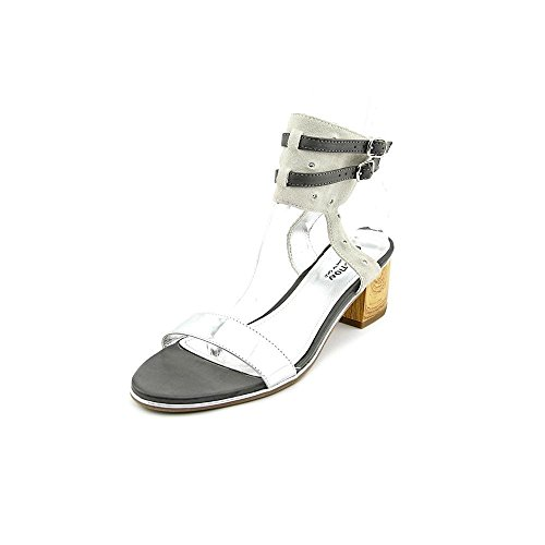 Kenneth Pumps REACTION TER Ankle Strap Cole Silver Classic Open Slaw Toe Womens vrpvqx6wA